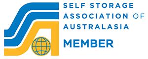 Self Storage Association of Australasia Member Logo