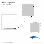 Echuca Moama Boat Storage Solutions Extra large shed size dimensions 12m long 4m wide 4m high